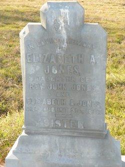 Elizabeth A. Eliza Jones