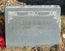 Velma B Anderson