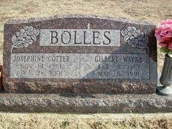 Josephine <i>Cotter</i> Bolles