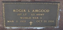 Capt Roger Lawrence Airgood