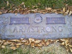 Lloyd E Armstrong