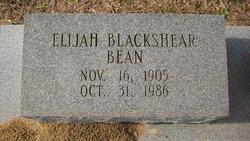 Elijah <i>Blackshear</i> Bean