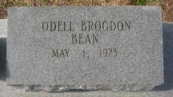 Odell <i>Brogdon</i> Bean