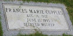 Frances Marie <i>Johnson</i> Cupples