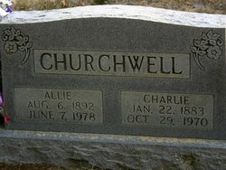 Allie <i>Brigance</i> Churchwell