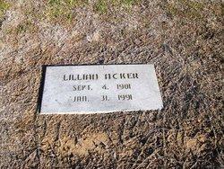 Lillian Claire <i>Sensibaugh</i> Acker