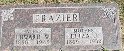 Elizabeth Jane Eliza <i>Queen</i> Frazier
