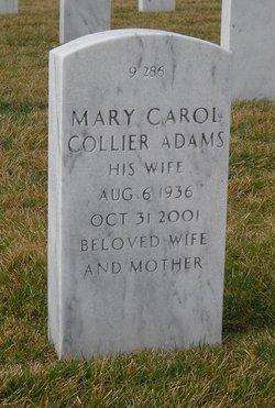 Mary Carol <i>Collier</i> Adams