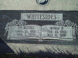 Eva Leone <i>Russell</i> Whitesides