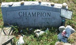 Norma Jane <i>Winterbottom</i> Becker Champion