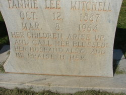 Fannie Lee <i>Russell</i> Mitchell