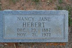 Nancy Jane <i>Hale</i> Hebert