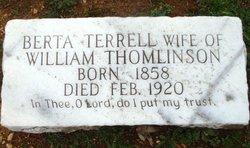 Berta <i>Terrell</i> Thomlinson