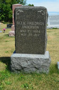 Ollie J <i>Friedrich</i> Anderson