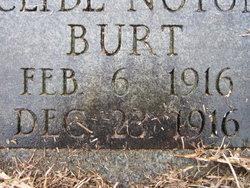 Clyde Noton Burt