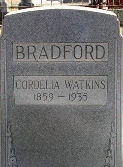 Cordelia <i>Watkins</i> Bradford