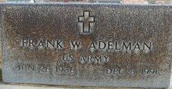 Frank W Bill Adelman