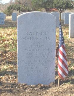 Gen Ralph Edward Haines, Jr