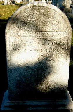 Daniel P. Hutchinson
