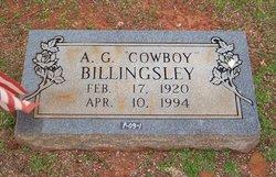 Arnold G Cowboy Billingsley