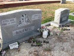 Etta Mae <i>Fannin</i> Boutwell