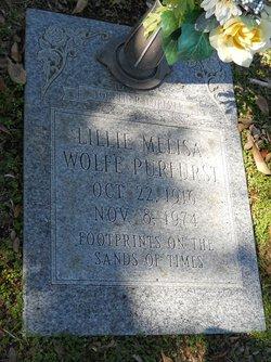 Lillie Melisa <i>Wolfe</i> Purfurst