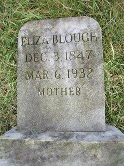 Elizabeth J. Eliza <i>Fry</i> Blough