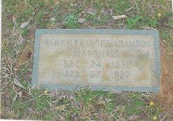 Sarah Frances <i>Adamson</i> Marshall