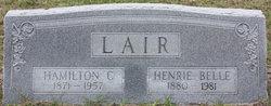 Henrie Belle <i>Leach</i> Lair