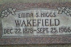 Emma Susannah <i>Higgs</i> Wakefield
