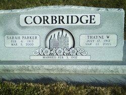 Sarah Stuart <i>Parker</i> Corbridge