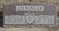 Myrtle B. <i>Jewell</i> Leininger