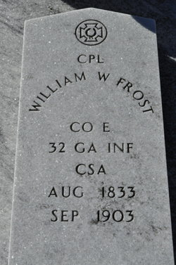 Corp William W. Frost