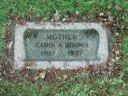 Karin A. <i>Larson</i> Brown