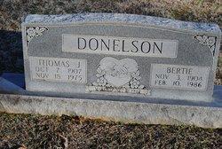 Bertie Donelson