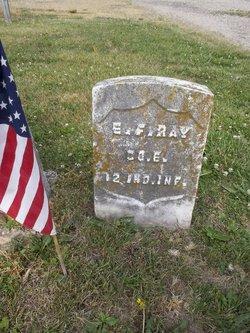 Pvt Elisha F. Ray