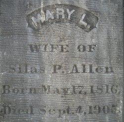 Mary <i>Leonard</i> Allen