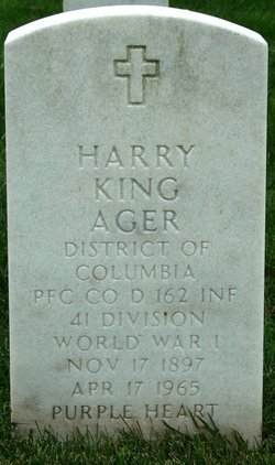 PFC Harry Frank King Ager