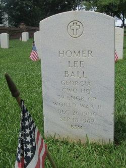 CWO Homer Lee Ball