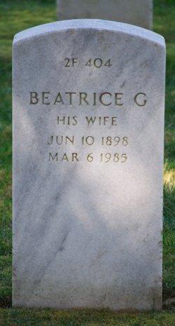 Beatrice G Higby