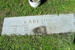 Nanabel <i>Estes</i> Carlton