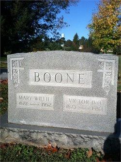 Mary Wilhemina Willie <i>Watson</i> Boone