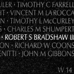 Lieut Robert Samuel Peck Bradshaw, III