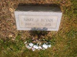 Mary E <i>Colbert</i> Bevan