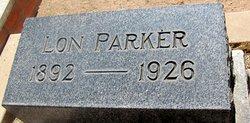William Llonzo Lon Parker