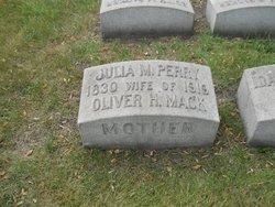 Julia M <i>Perry</i> Mack