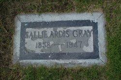 Sallie Ardis Gray