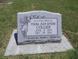 Velma Jean <i>Snyder</i> Collier