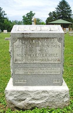 Mary <i>Woolfolk</i> Rule
