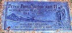 Peter Paul Birmingham, II